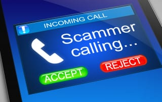 Cold Call scam