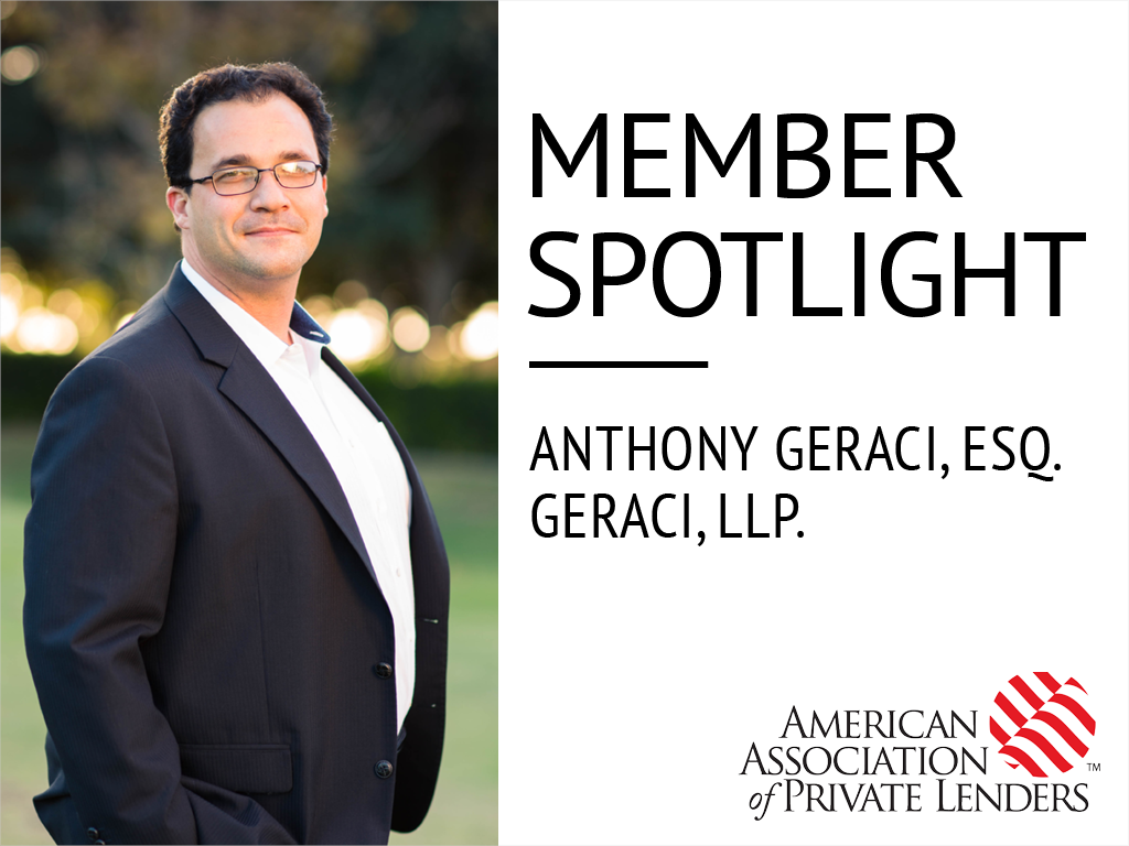 Member Spotlight, Anthony Geraci