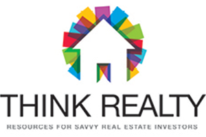 Think Realty resources for savvy real estate investors logo