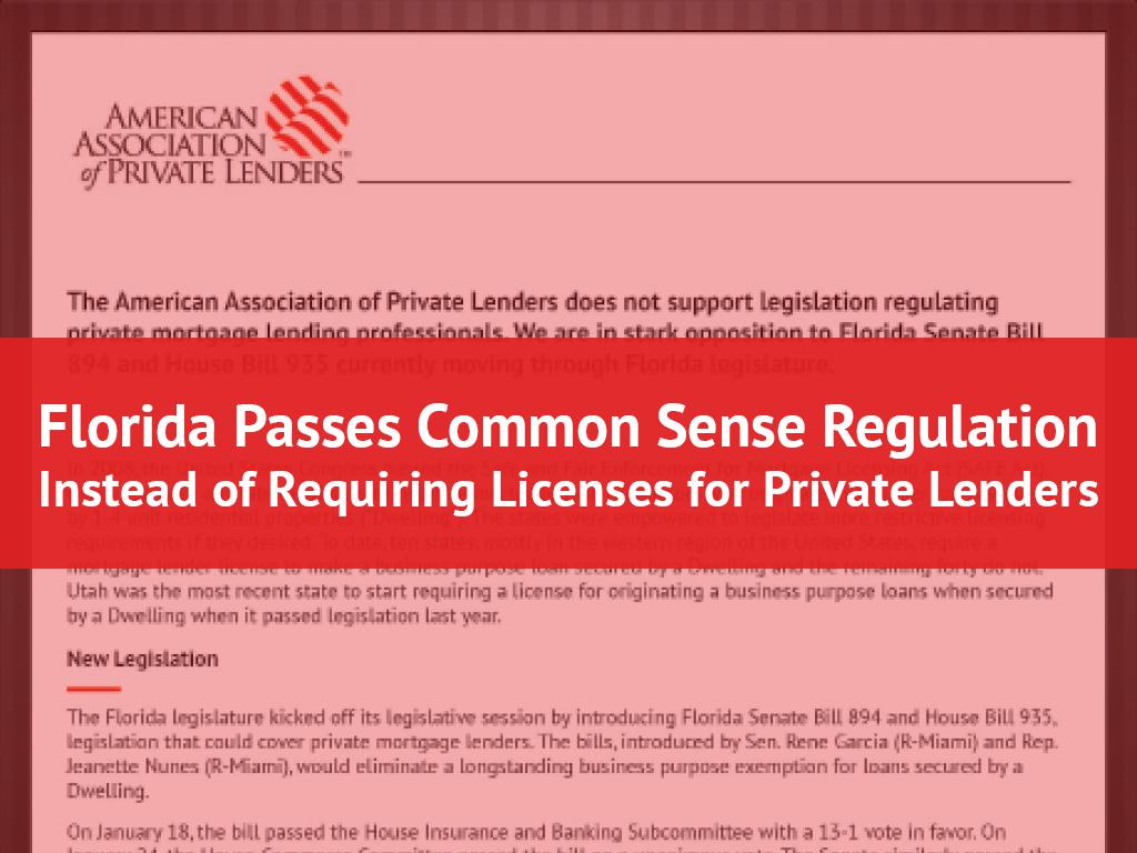 Florida Regulation