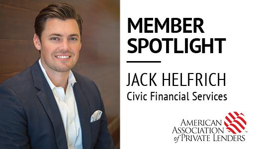 Jack Helfrich, CIVIC, Civic Financial Services, Member Spotlight