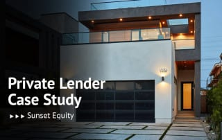 Case Study, Sunset Equity