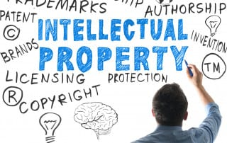 Copyrights, trademarks, intellectual property